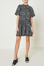 Hayden Los Angeles Dotted-Asymmetrical Ruffle Mini-Dress - Other