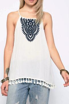 Hayden Los Angeles Embroidered Tank Top - Product List Image