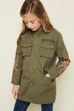 Hayden Los Angeles Embroidered Utility Jacket - Product List Image