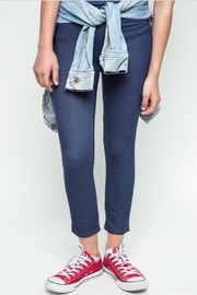 Hayden Los Angeles Faux Denim Legging - Product Mini Image