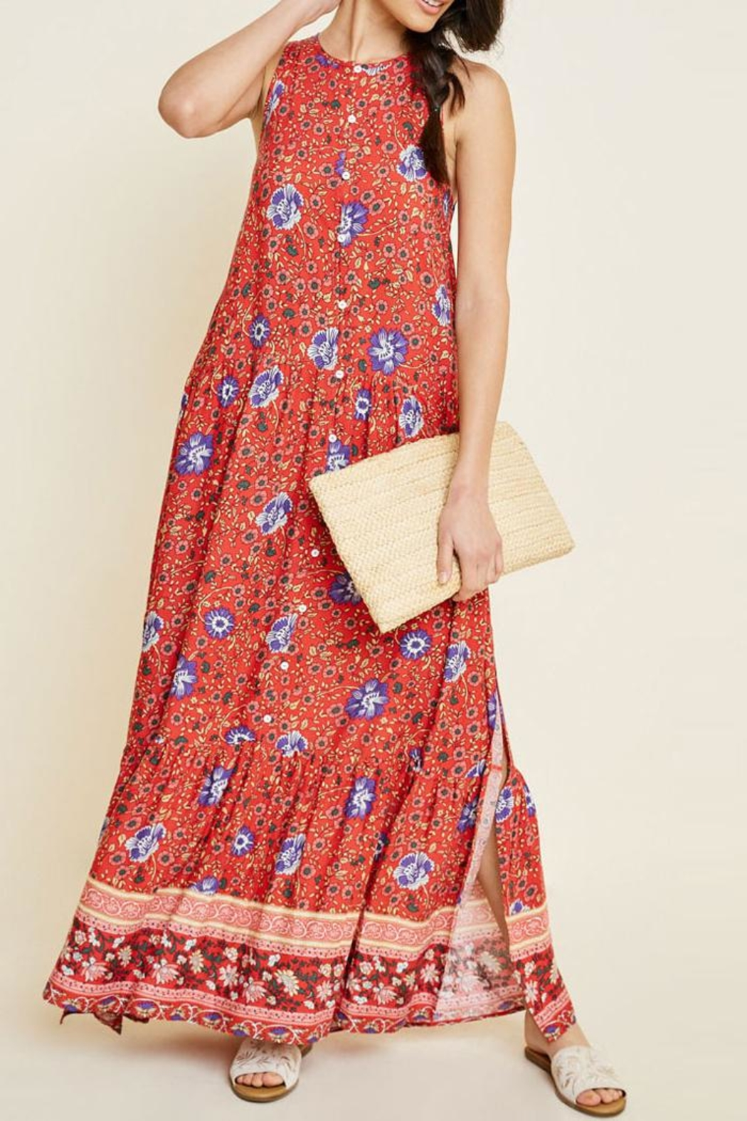 Hayden Los Angeles Floral Maxi Dress - Main Image