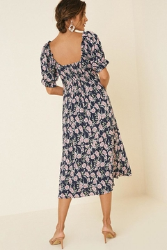 Hayden Los Angeles Floral Midi Dress - Alternate List Image