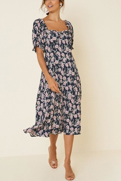 Hayden Los Angeles Floral Midi Dress - Product List Image