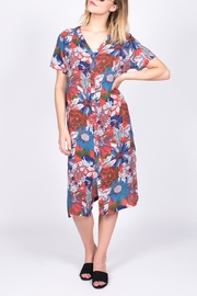 Hayden Los Angeles Floral Shirt Dress - Product Mini Image