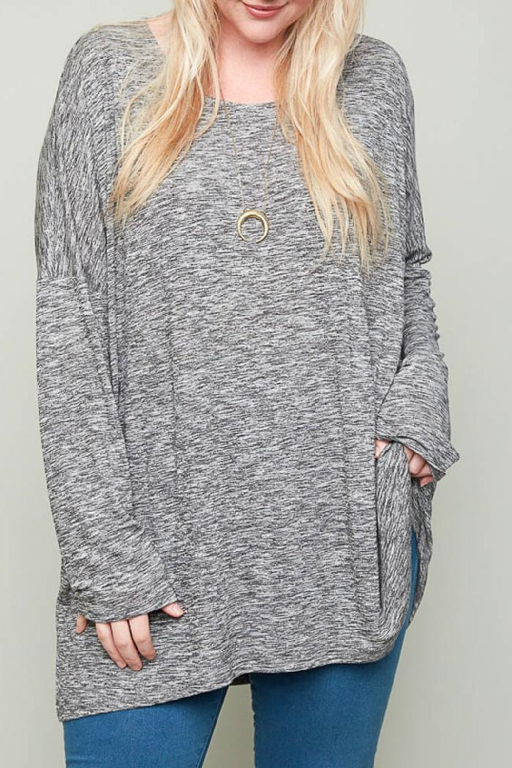 Hayden Los Angeles Claire Heather Tunic - Front Cropped Image