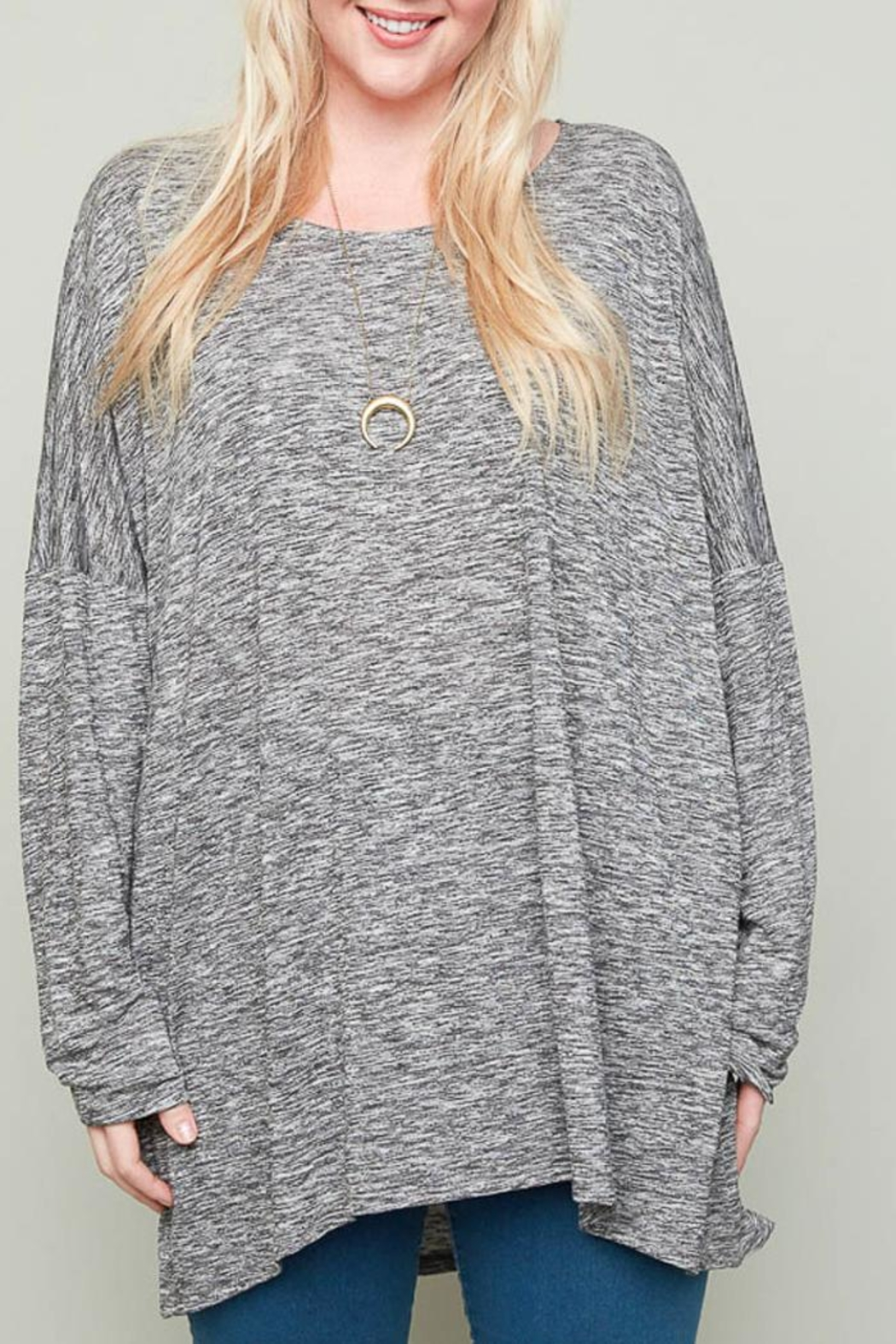 Hayden Los Angeles Claire Heather Tunic - Front Full Image
