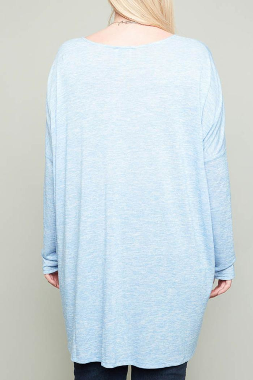 Hayden Los Angeles Claire Heather Tunic - Back Cropped Image