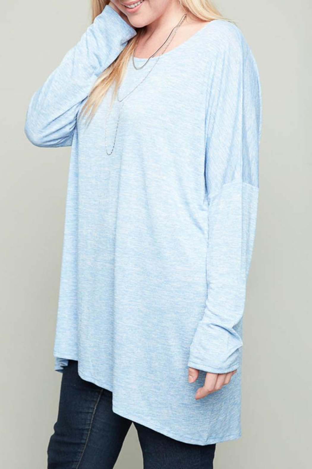 Hayden Los Angeles Claire Heather Tunic - Side Cropped Image
