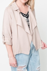Hayden Los Angeles Khaki Jacket - Front cropped