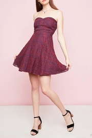 Hayden Los Angeles Lace Sweetheart Dress - Front cropped