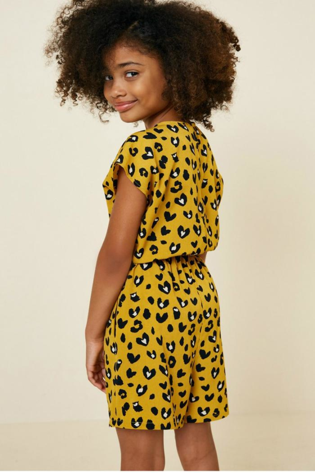 Hayden Los Angeles Leopard Pocket Romper - Side Cropped Image