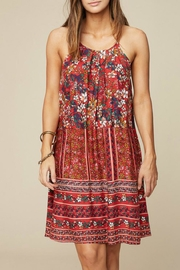 Hayden Los Angeles Mix Print Dress - Product Mini Image