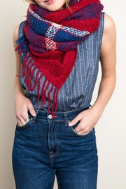 Hayden Los Angeles Plaid Blanket Scarf - Product Mini Image