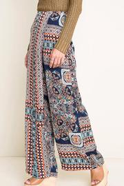 Hayden Los Angeles Print Wide Leg Pants - Front full body