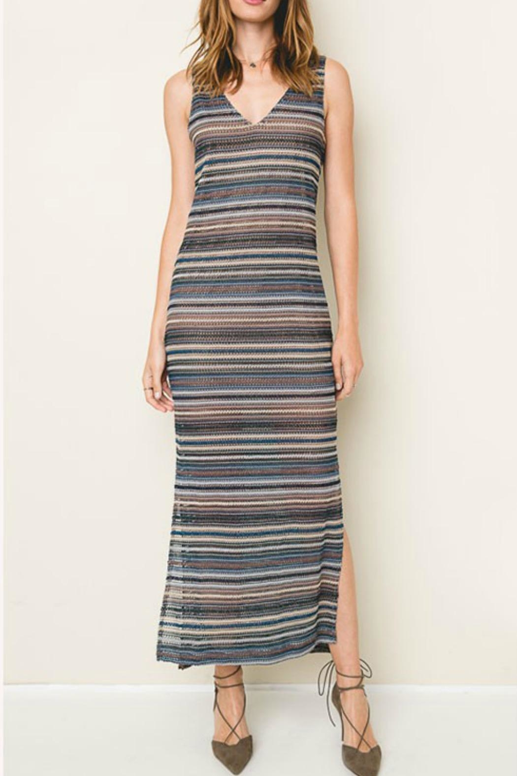 Hayden Los Angeles Sail Away Knit-Maxi - Front Cropped Image
