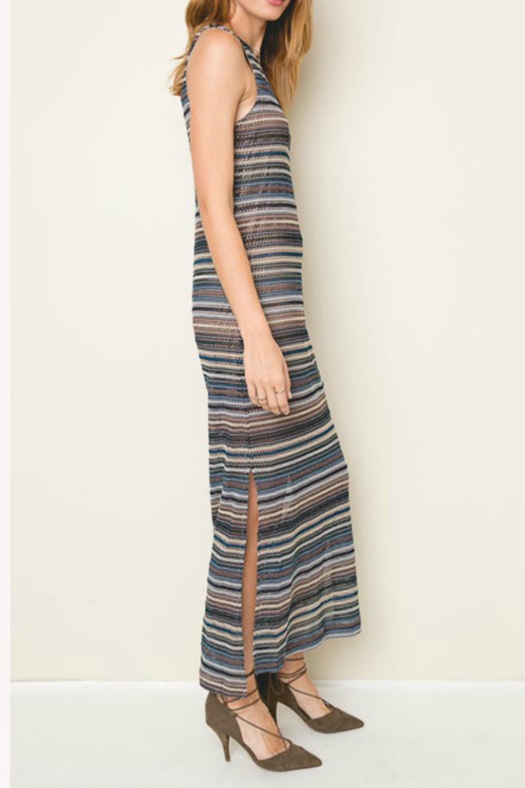 Hayden Los Angeles Sail Away Knit-Maxi - Front Full Image
