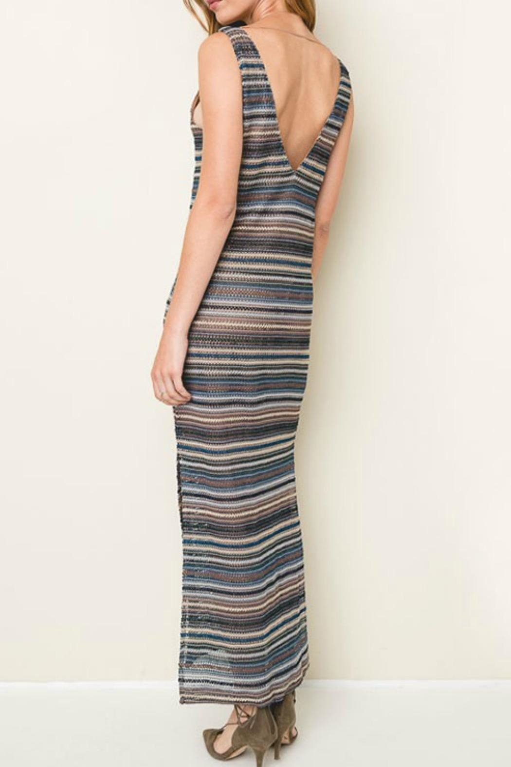 Hayden Los Angeles Sail Away Knit-Maxi - Side Cropped Image