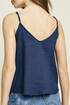 Hayden Los Angeles Sleeveless Linen Top - Alternate List Image