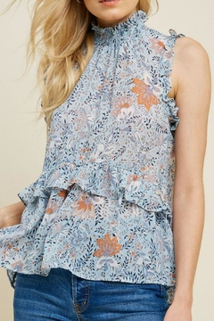 Hayden Los Angeles Smock-Neck Floral Top - Product List Image