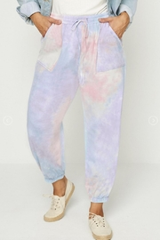 Hayden Los Angeles Tie Dye Joggers - Product Mini Image