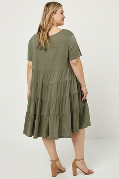 Hayden Los Angeles Tier Dress - Alternate List Image