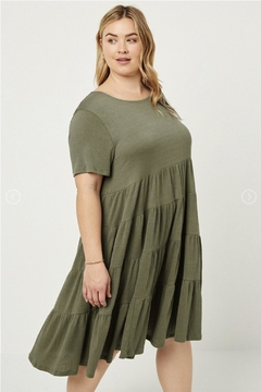 Hayden Los Angeles Tier Dress - Product List Image