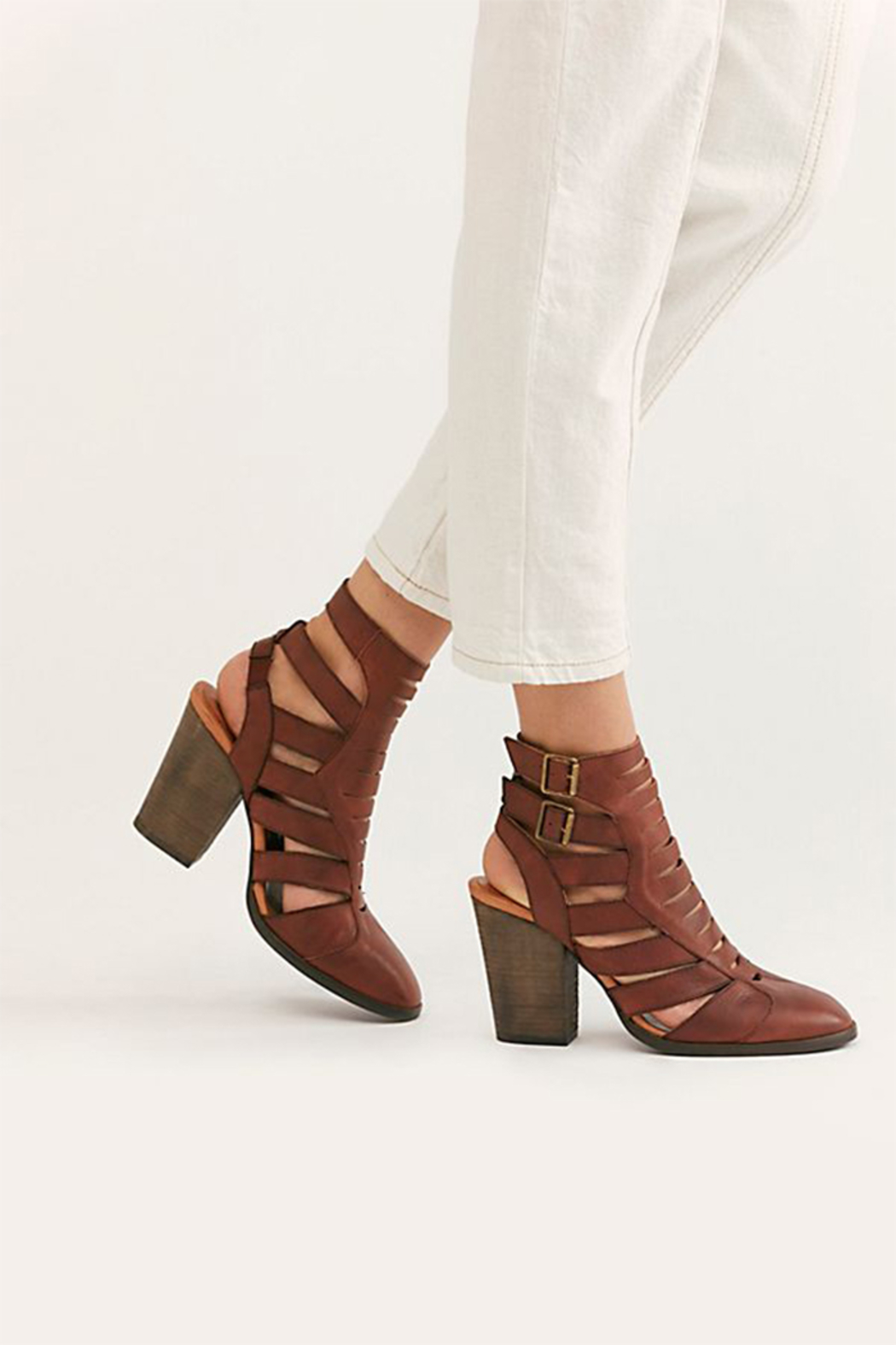 Free People Hayes Heel Boot - Front Full Image