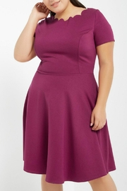 Izzie's Boutique Hayley Magenta Dress - Product Mini Image