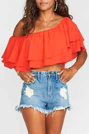 Show Me Your Mumu Hayworth Ruffle Top - Product Mini Image