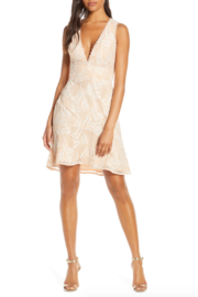 Adelyn Rae Hazel Lace Dress - Product Mini Image