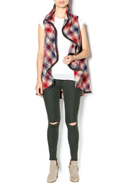 Hazel Mad For Plaid Vest - Front full body
