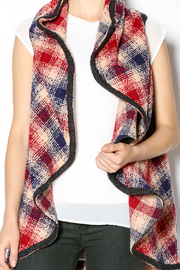 Hazel Mad For Plaid Vest - Other