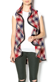 Hazel Mad For Plaid Vest - Front cropped
