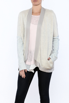 Hazel Mixed Media Cardigan - Product List Image