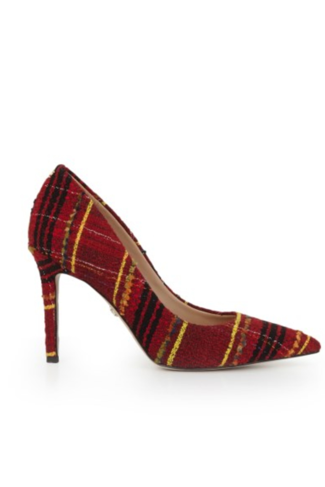 Sam Edelman Hazel Red Multi Heel - Front Full Image