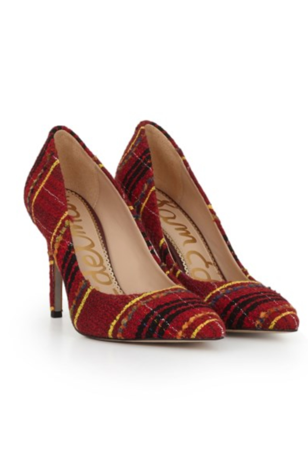 Sam Edelman Hazel Red Multi Heel - Main Image
