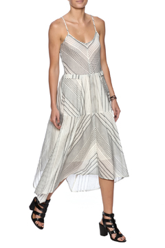 Hazel Stripe Midi Dress - Product List Image