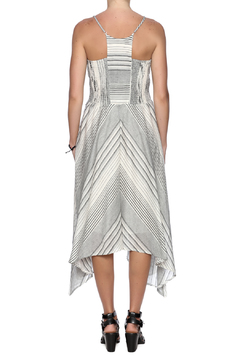 Hazel Stripe Midi Dress - Alternate List Image