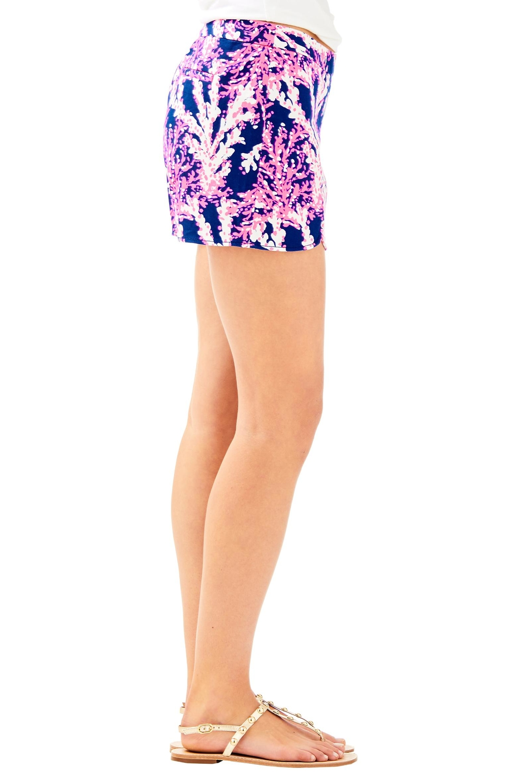 Lilly Pulitzer Hazelle Stretch Short - Side Cropped Image