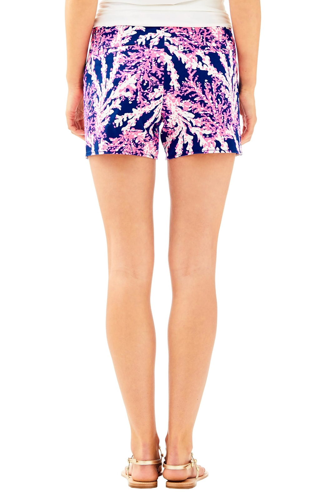 Lilly Pulitzer Hazelle Stretch Short - Front Full Image