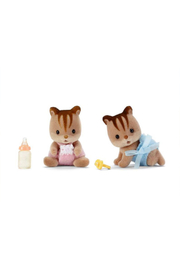 Calico Critters Hazelnut Chipmunk Twins - Front cropped