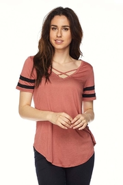 Active Basic Hazzy Summer Top - Product Mini Image