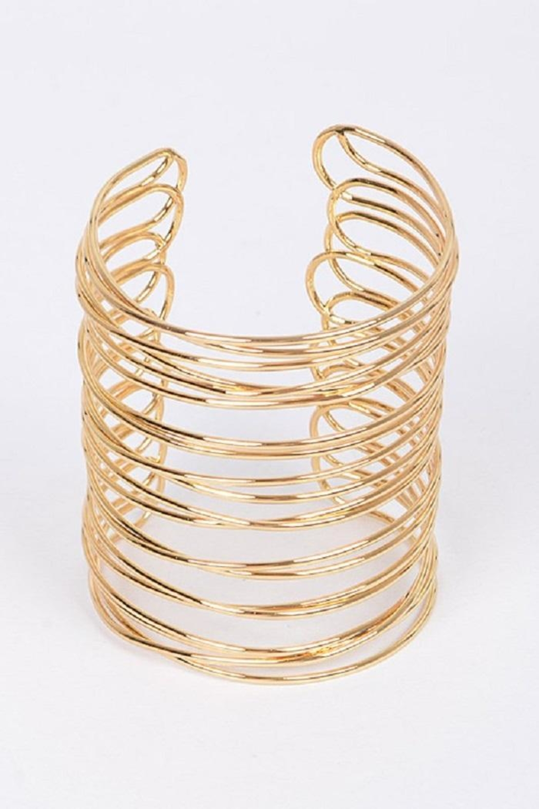 HD Gold Layered Bracelet - Main Image