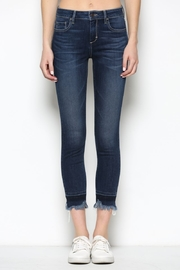 Hidden Jeans HD7452-DK  Dark Wash Released Frayed Hem Skinny - Other