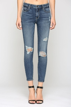 Hidden Jeans HD7756-DK MID RISE SKINNY - Product List Image