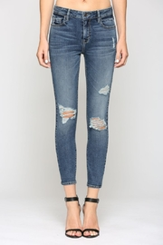 Hidden Jeans HD7756-DK MID RISE SKINNY - Front cropped