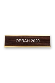 He Said, She Said Oprah 2020 Nameplate - Product Mini Image