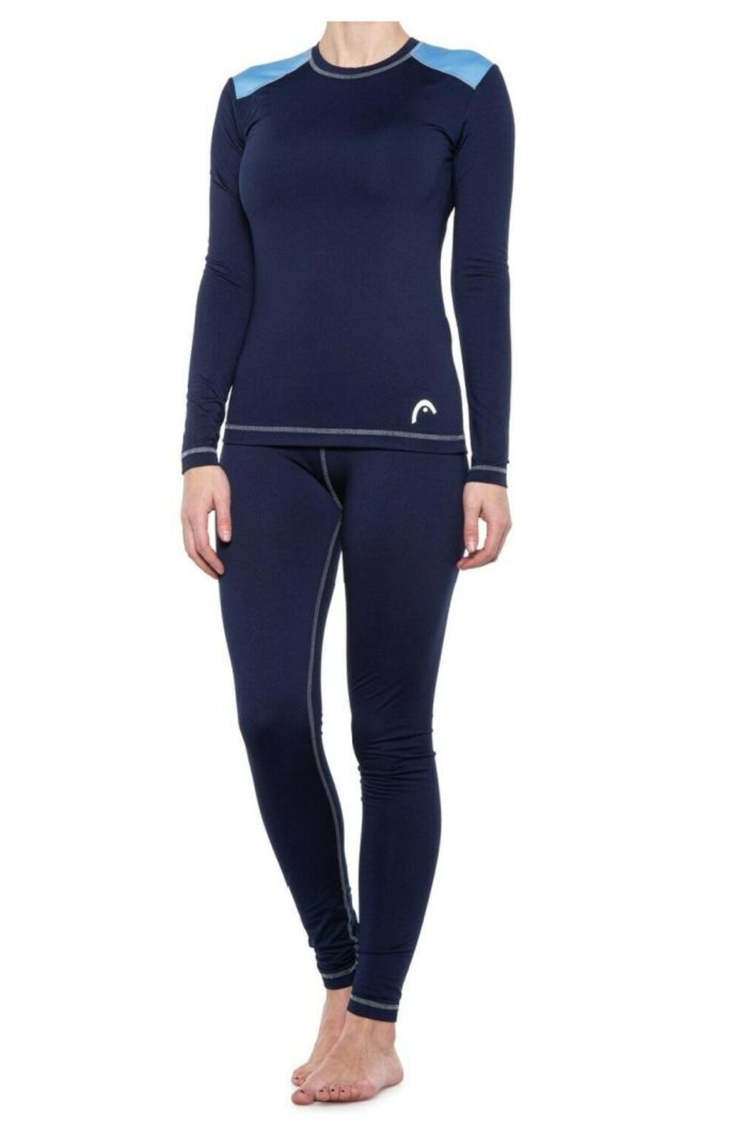 Head Women's Brushed 2 Piece Base Layer Set - Front Cropped Image