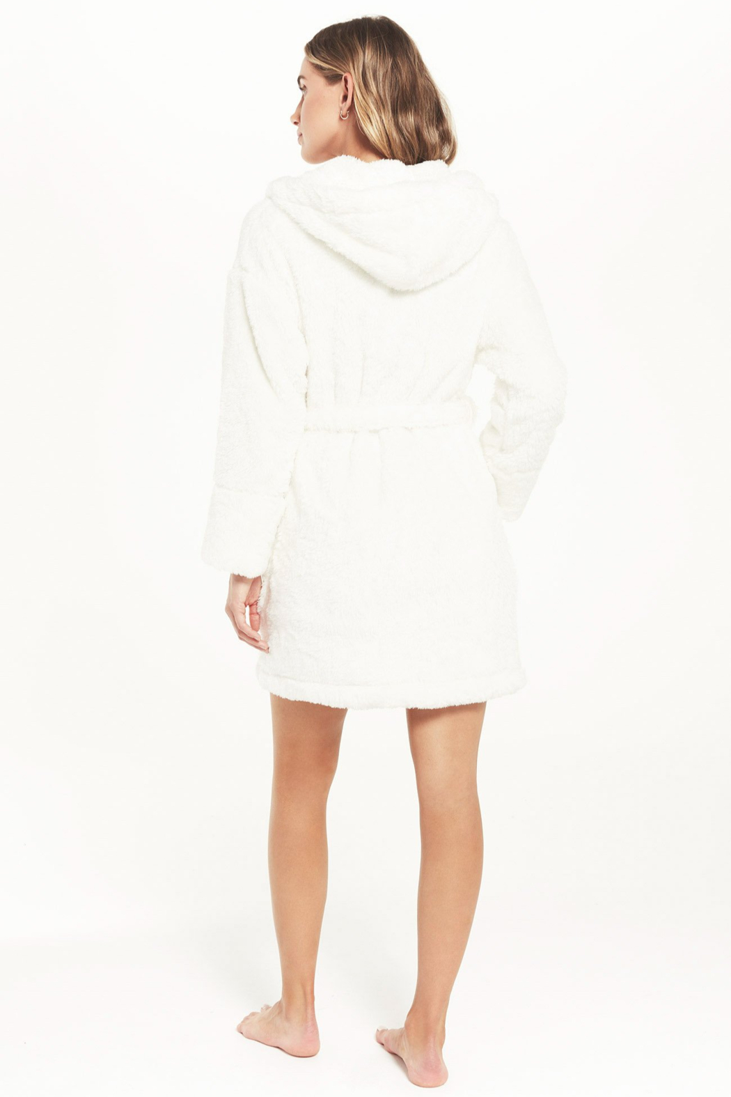 z supply Head In the Clouds Robe - Side Cropped Image