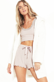 z supply Head In the Clouds Robe - Front cropped